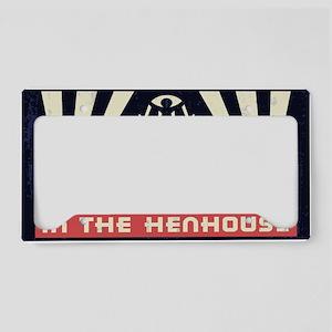 faux-henhouse-STKR License Plate Holder