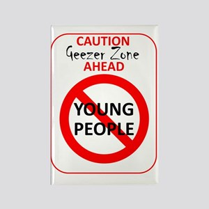 YoungPeopleSign Rectangle Magnet