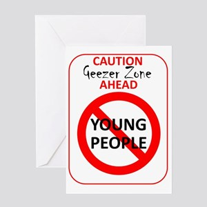 YoungPeopleSign Greeting Card