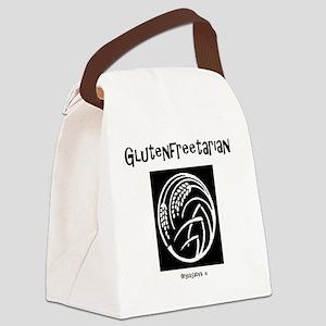C glutenfreetarian oryza sativa w Canvas Lunch Bag