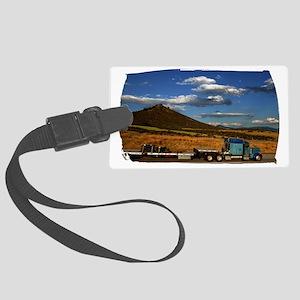 (16) Shasta I-5 Trucking Large Luggage Tag