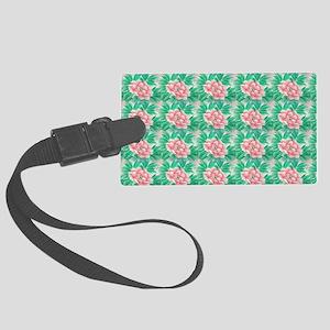 orientalflowersb Large Luggage Tag