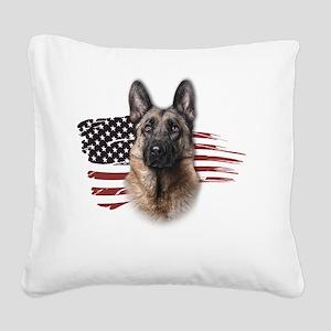 usa3 Square Canvas Pillow