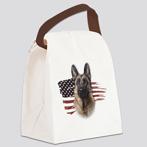 usa3 Canvas Lunch Bag