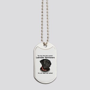 Black Lab Dog Tags