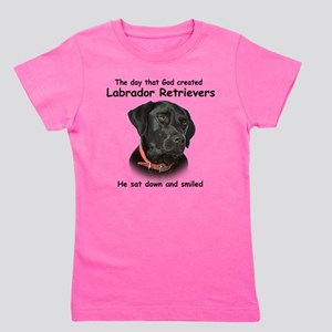 Black Lab Girl's Tee