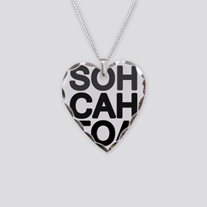 soh cah toa Necklace Heart Charm