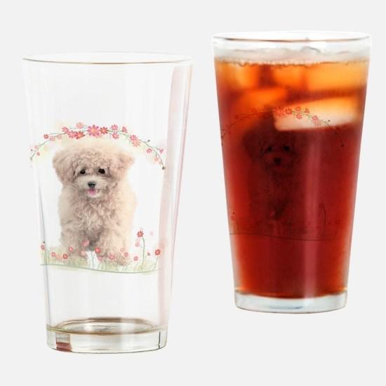 flowers2 Drinking Glass