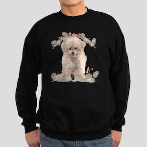 flowers2 Sweatshirt (dark)
