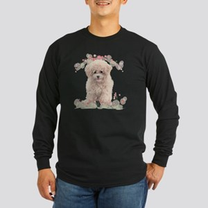 flowers2 Long Sleeve Dark T-Shirt