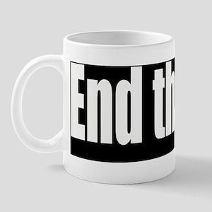 End-theFed-Bumper-Sticker Mug