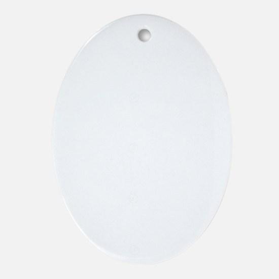 Tux new light Oval Ornament