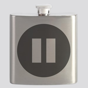 PauseWhite Flask