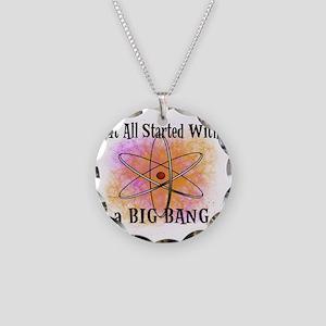 started big bang Necklace Circle Charm