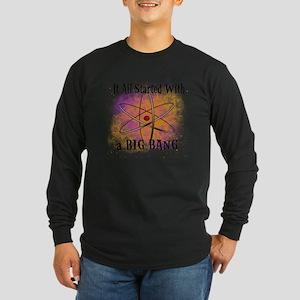 started big bang Long Sleeve Dark T-Shirt