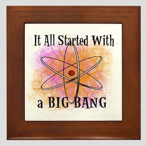 started big bang Framed Tile