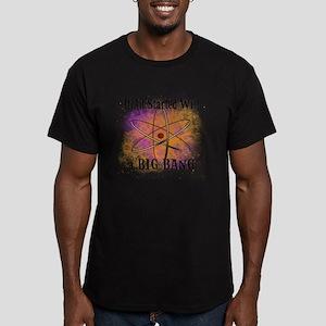 started big bang Men's Fitted T-Shirt (dark)