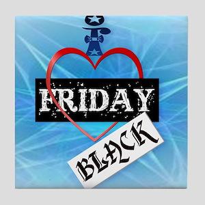 I Love Black Friday_mpad Tile Coaster