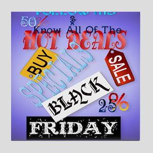 Follow Me-Black Friday_mpad Tile Coaster