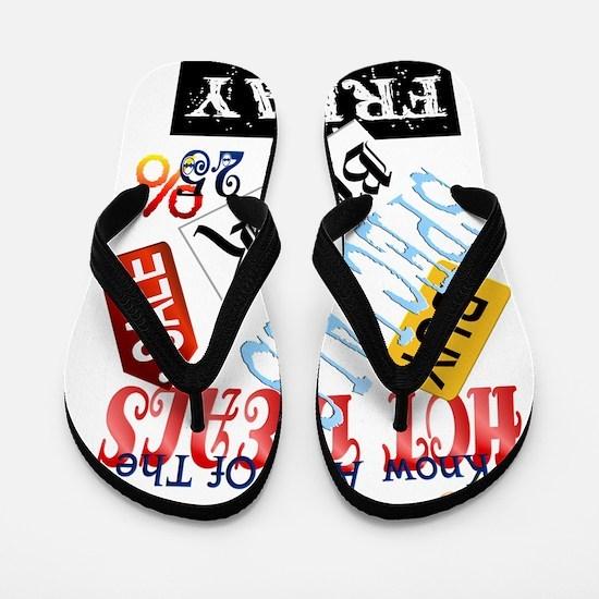 Hot Deals-Black Friday Trans Flip Flops