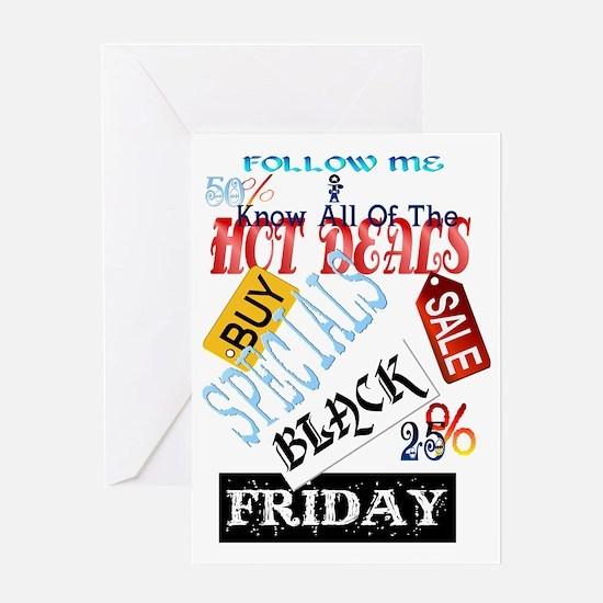 Hot Deals-Black Friday Trans Greeting Card