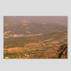 Kastraki. Monasteries of  Postcards (Package of 8)