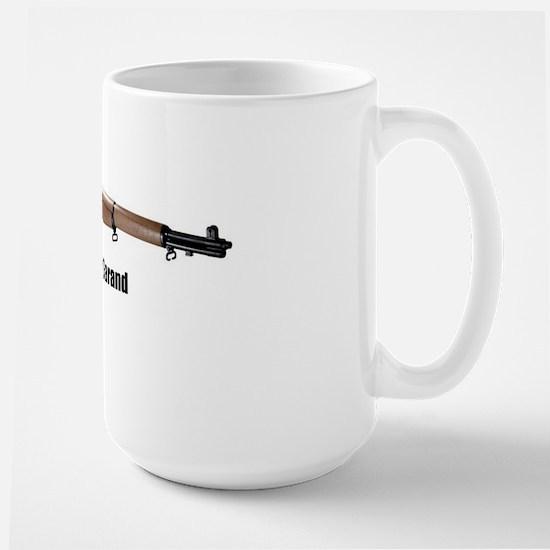 m1-garand Large Mug