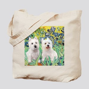 MP2-rises-Westies 3and11-smaller Tote Bag