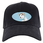 Siberian Husky Puppy Black Cap with Patch