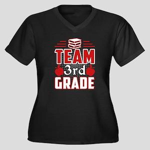 TEAM 3RD GRADE TEACHER Plus Size T-Shirt