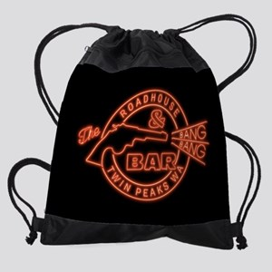 Twin Peaks Roadhouse Bang Bang Drawstring Bag