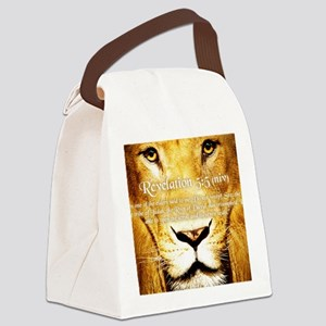 Lion of Judah3 Canvas Lunch Bag