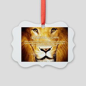 Lion of Judah3 Picture Ornament
