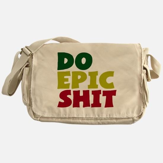 2000x2000doepicshitrastaflagclear Messenger Bag
