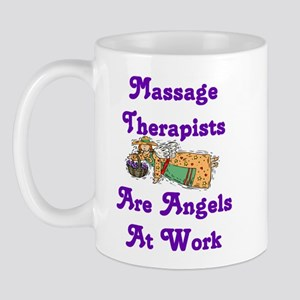 Massage Therapists Are Angels Mug