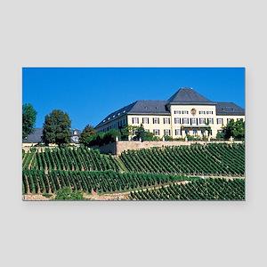 Schloss Johannisberg vineyard Rectangle Car Magnet
