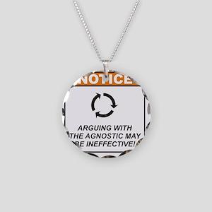 Agnostic_Notice_Argue_RK2011 Necklace Circle Charm