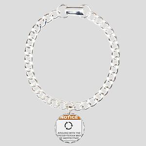 Presbyterian_Notice_Argu Charm Bracelet, One Charm