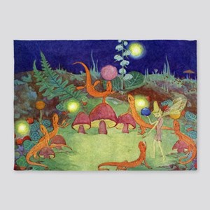 The Fairy Circus003_10x14 5'x7'Area Rug