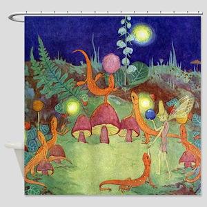 The Fairy Circus003_SQ Shower Curtain
