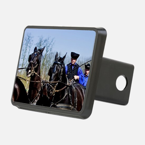 A horse show at the' LAZAR Hitch Cover