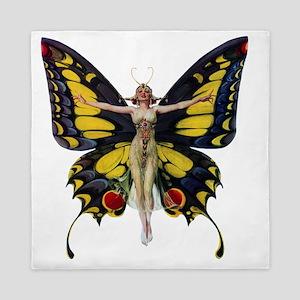 Leyendecker Butterfly_copy Queen Duvet