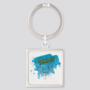 My Other Ride Is Your FaceII Square Keychain