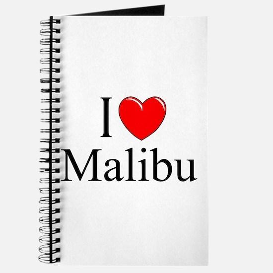"""""""I Love Malibu"""" Journal"""