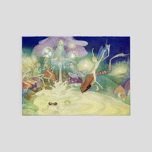 The Fairy Circus007_10x14 5'x7'Area Rug