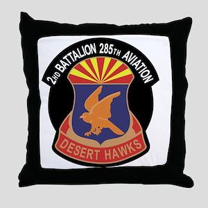285Aviation Bn Throw Pillow