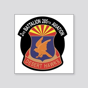 "285Aviation Bn Square Sticker 3"" x 3"""