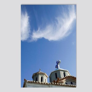 Karlovasi: View of Agia T Postcards (Package of 8)