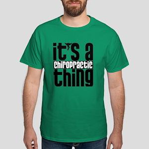 Chiropractic Thing Dark T-Shirt