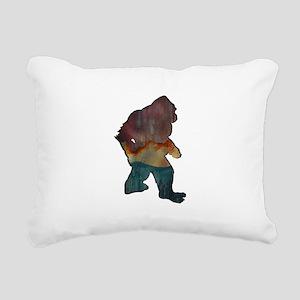 STRUTTER FOREST Rectangular Canvas Pillow